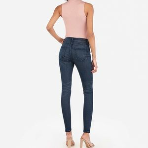 Express Perfect Curves Lift Ankle Skinny Jeans